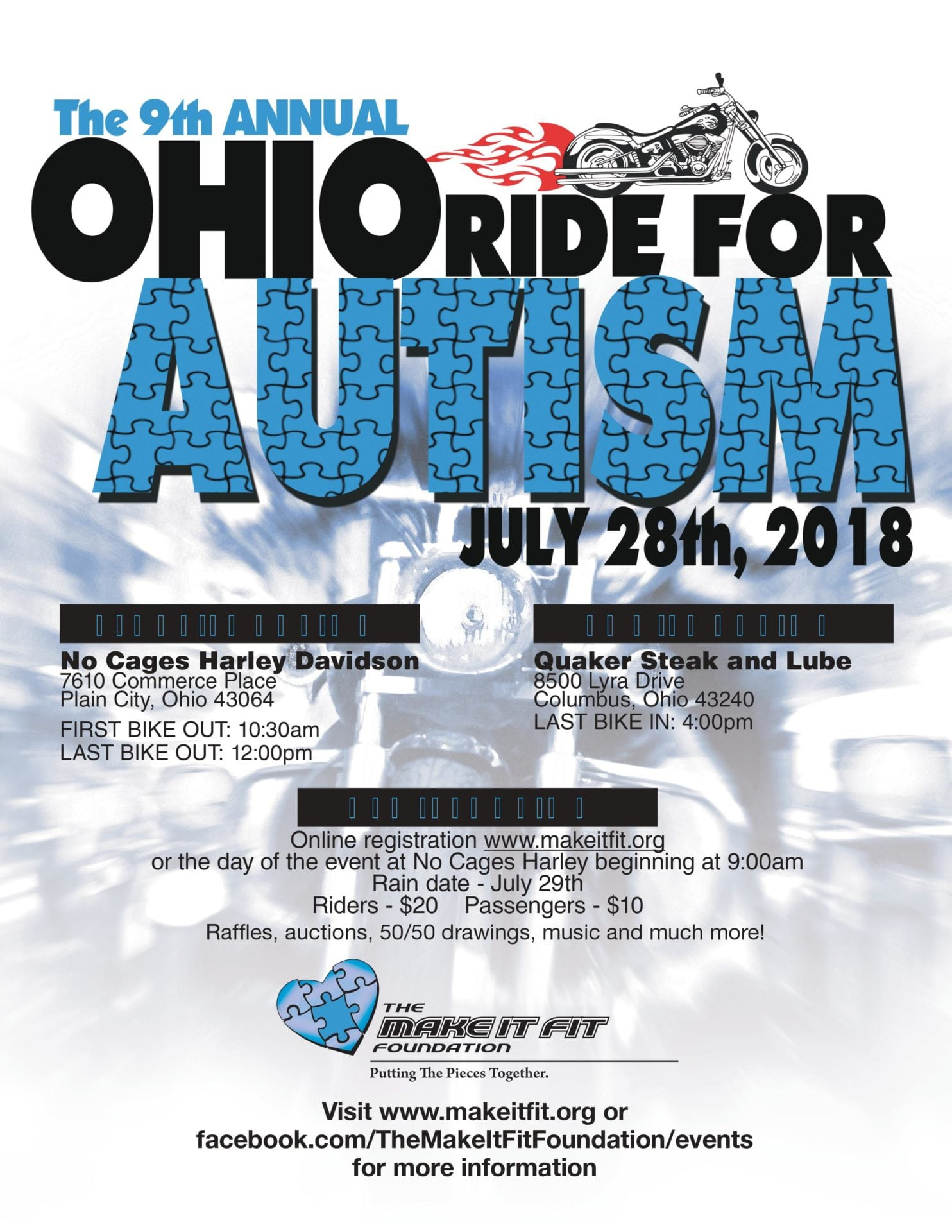 The 9th Annual Ohio Ride For Autism Columbus Chamber Of Commerce